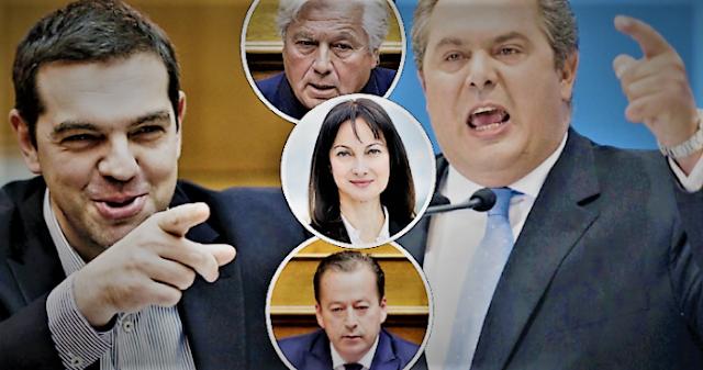 Πως το «ηθικό πλεονέκτημα» του ΣΥΡΙΖΑ μετέτρεψε τον Καμμένο σε κινούμενη βόμβα