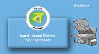Murshidabad District Sahayak Previous Papers