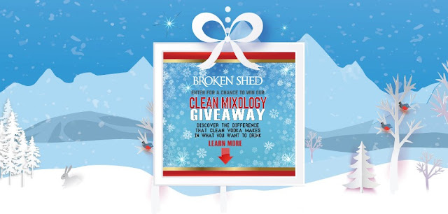 BROKEN SHED VODKA WINTER GIVEAWAY