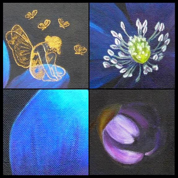 Douceurs Et Couleurs: Fleur Bleue