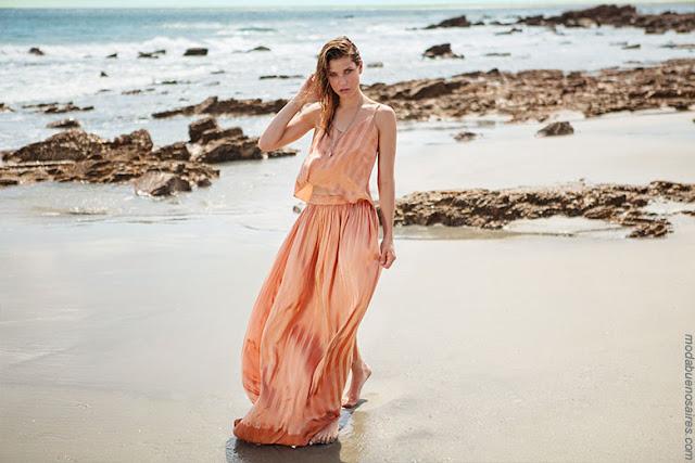 Moda primavera verano 2018 | Ropa de mujer de la Colección Cuesta Blanca primavera verano 2018 | Vestidos, pantalones, tops, blusas primavera verano 2018.