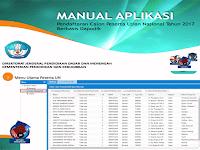 Manual Aplikasi Pendaptaran Calon Peserta Ujian Nasional (UN) Berbasis Dapodik Tahun Ajaran 2016/2017