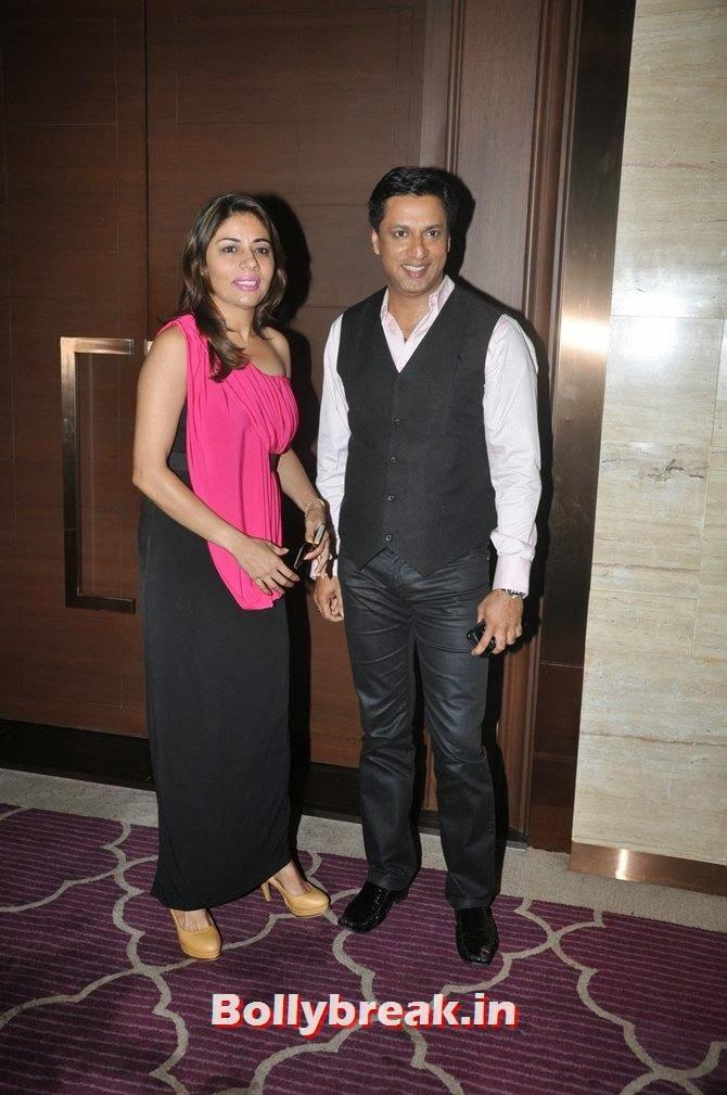 Madhur and Renu Bhandarkar, Bollywood Stars Attend Asin's birthday bash