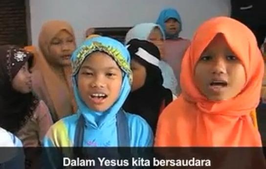 Astaghfirullah.... Upaya Kristenisasi Terhadap Korban Gusur di Jakarta Beredar Melalui Broadcast