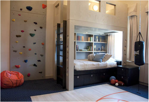 Teen Boys Sports Theme Bedrooms ~ Room Design Ideas