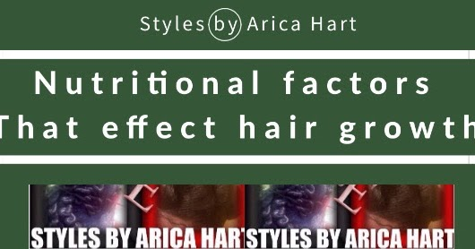 STYLES BY ARICA HART : Hair growth is effected by proper intake of ...