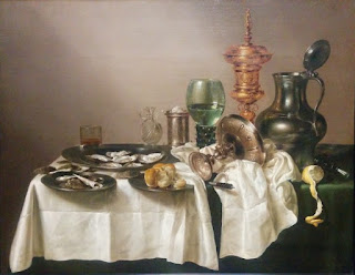 Painting: Still Life with a Gilt Cup by Willem Claesz, Rijksmuseum, Amsterdam, The Netherlands