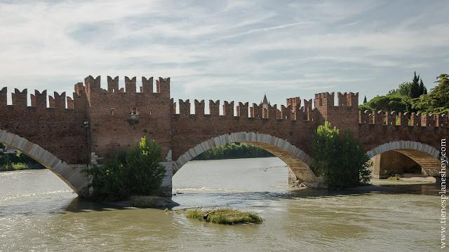 Puente Castelvecchio Verona Italia