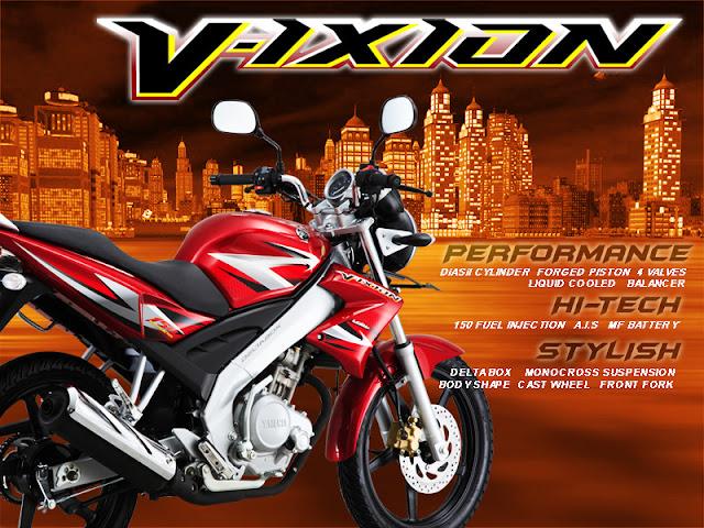 Generasi Lengkap Yamaha Vixion dari masa ke masa
