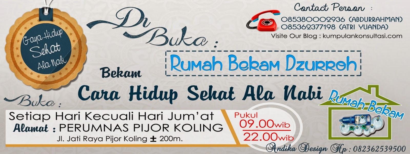 Bekam (hijamah) Tibbun nabawi solusi hidup