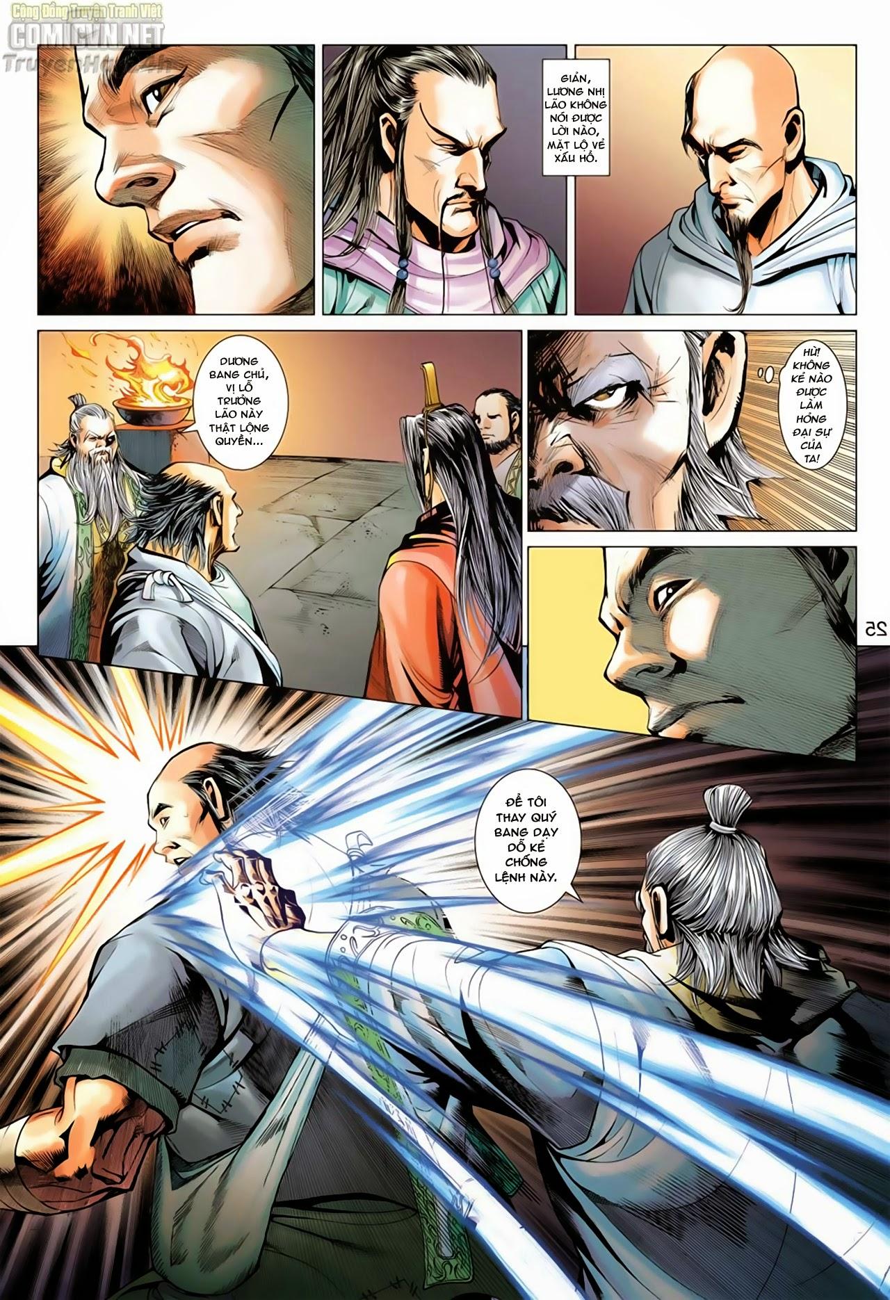 Anh Hùng Xạ Điêu anh hùng xạ đêu chap 66: nhạc châu đại hội trang 25