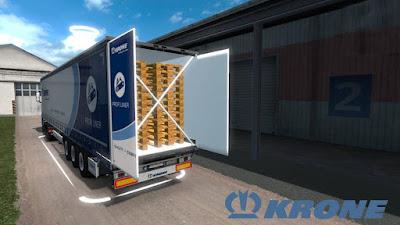Krone Megaliner with Swing door v1.0 - 1.34.x