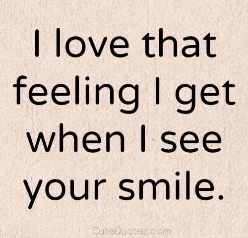 I Love that feeling life quotes on love