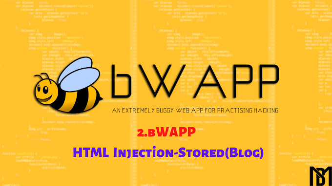bWAPP | HTML Injection-Stored(Blog) Açığı