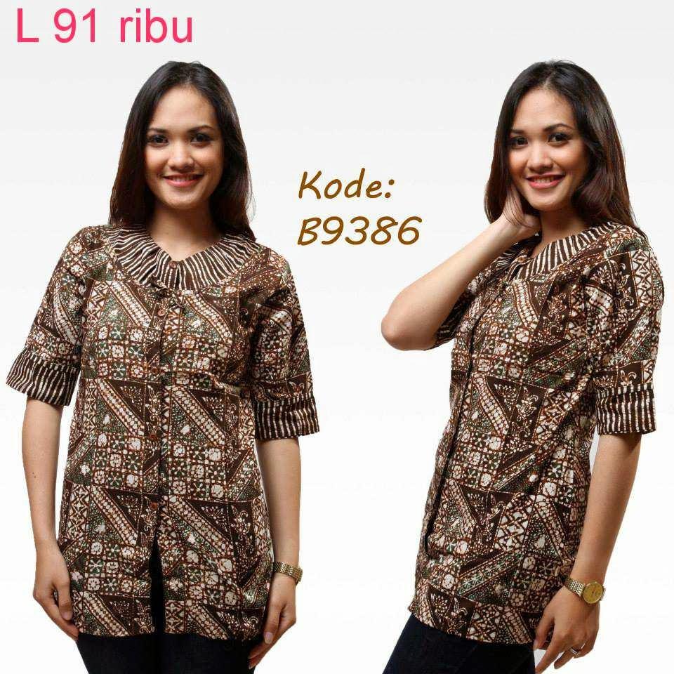 Baju Batik Guru Perempuan: Model Baju Batik Buat Guru