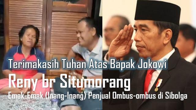 """Inilah Video dan Lirik Lagu """"Terimakasih Tuhan Atas Bapak Jokowi"""" yang viral dinyanyikan Boru Situmorang Versi Indonesia"""