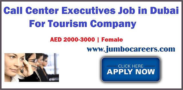 Call center executives Job in Dubai