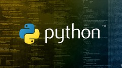 Python For Beginners 2019 - A Complete Python Bootcamp