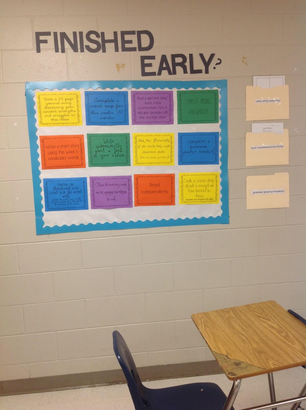 Ela Essentials Classroom Tour Year 4
