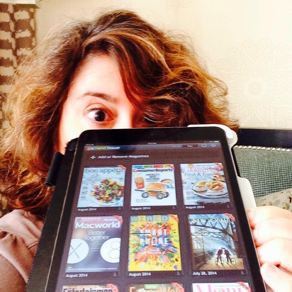 """#BlogHer14 """"sponsor selfie""""--#ReadandRelax with #NextIssue"""