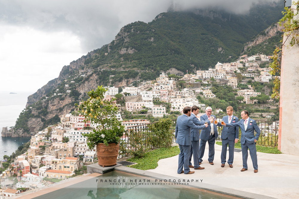 Wedding day Positano