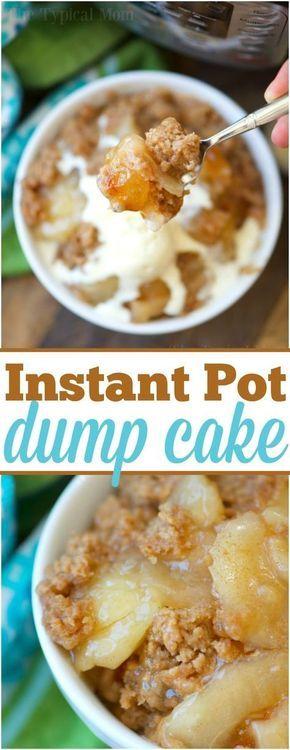 Instant Pot Dump Cake Recipe