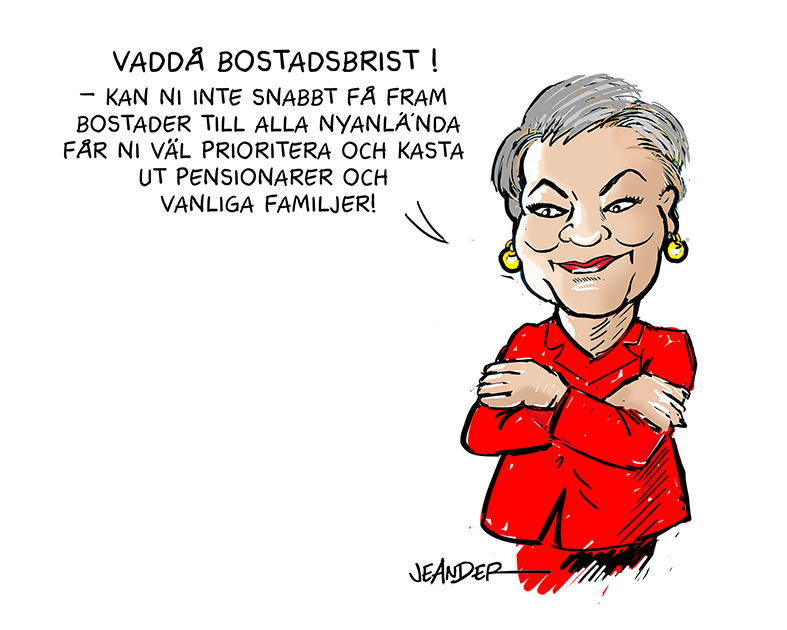 "JEANDERS BILDBLOGG: ""Sossar kan"""