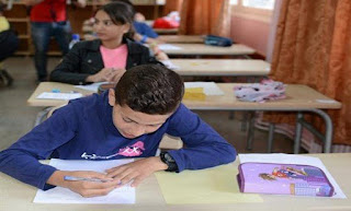 بن غبريت تعطي من المنيعة إشارة انطلاق امتحانات نهاية المرحلة الابتدائية 2018