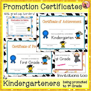 Certificates of Kindergarten