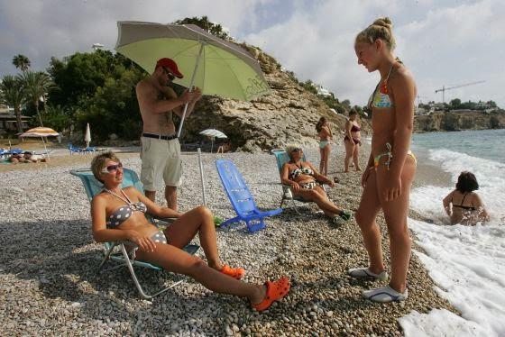 Las hijas del ruso (1ª Parte). Antropología social desde la toalla de la playa