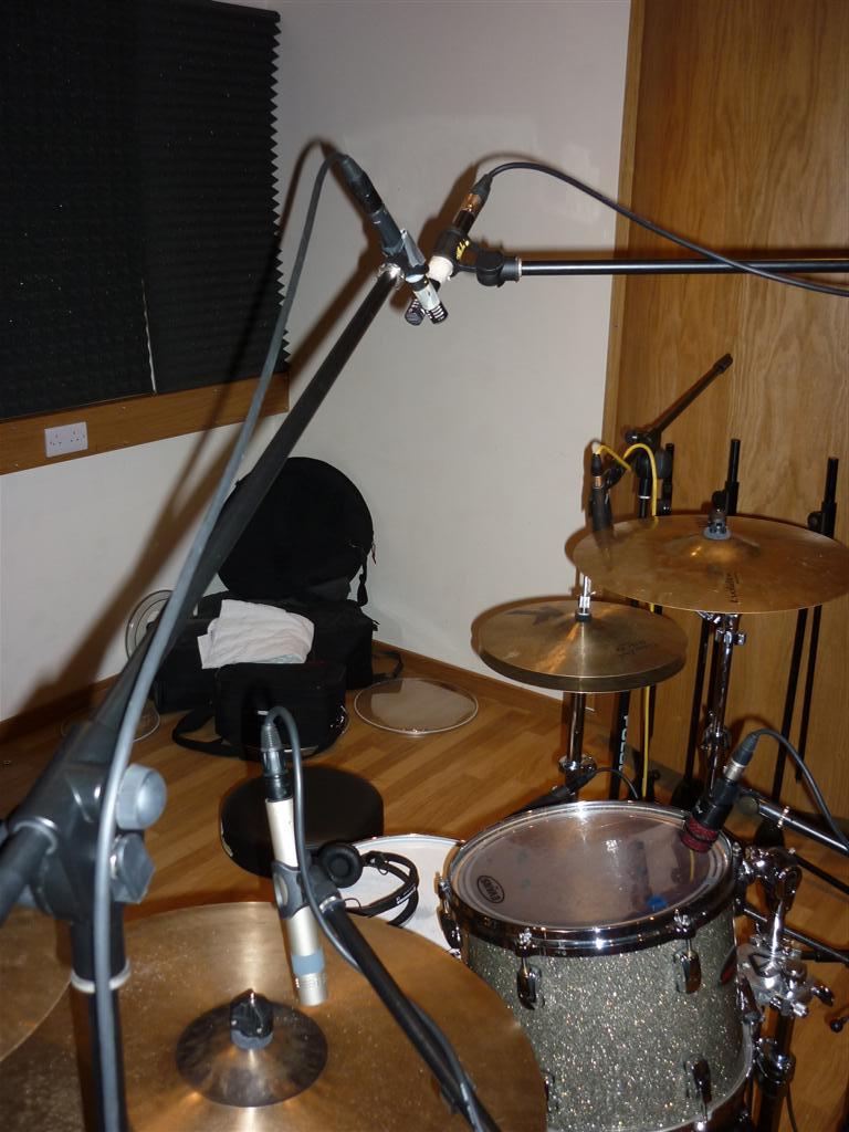 Multi-track and Microphones: Week 5: Drums