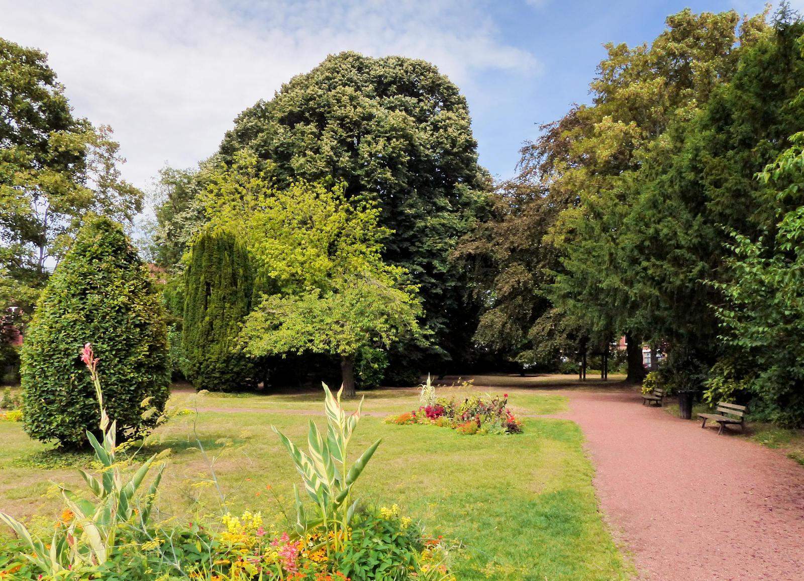 Jardin botanique, Tourcoing - Parc à l'anglaise
