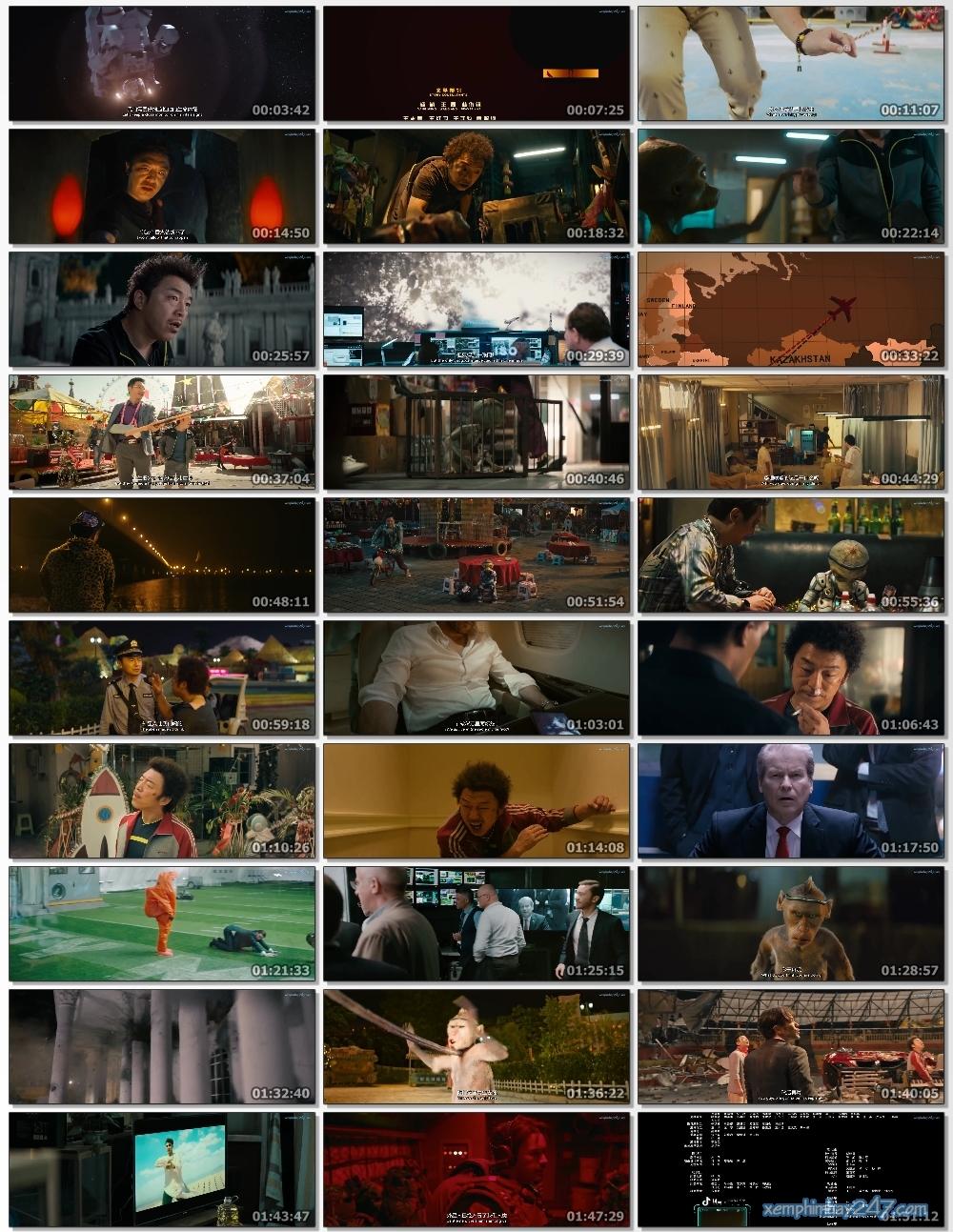 http://xemphimhay247.com - Xem phim hay 247 - Người Ngoài Hành Tinh Điên Cuồng (2019) - Crazy Alien (2019)
