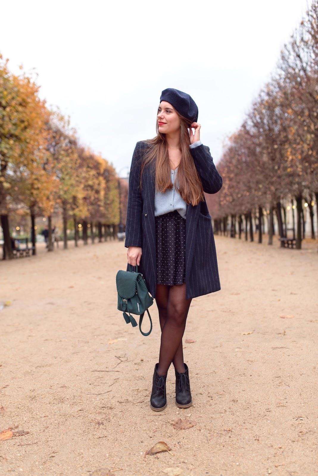 look parisienne beret