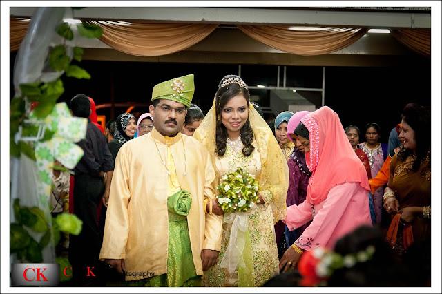 Reception Ceremony In Hindi: Adam & Mazlina, Engagement/Reception Ceremony @ Kim Sen