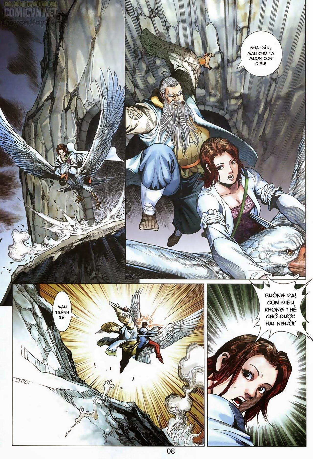 Anh Hùng Xạ Điêu anh hùng xạ đêu chap 69: hồn đoạn thiết chưởng phong trang 31