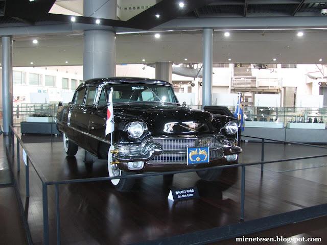 Военный мемориал Республики Корея - автомобиль первого президента Южной Кореи