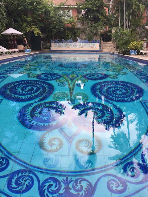 Graycliff Pool, Nassau, Bahamas - curiousadventurer.blogspot.com