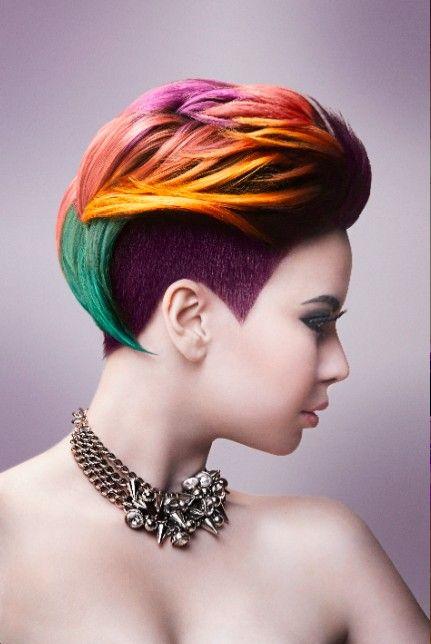 Cortes de pelo para mujeres extravagantes