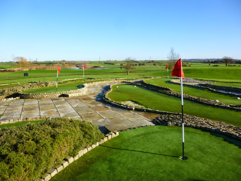 Mini-Golf at Dunton Hills Family Golf Centre in West Horndon, Essex
