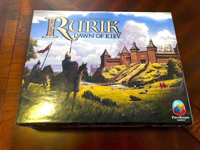 Rurik: Dawn of Kiev board game by PieceKeeper Games Box Art