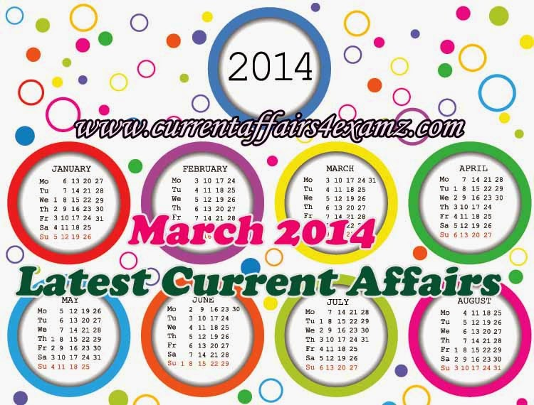 Current Affairs 2014 Pdf For Upsc