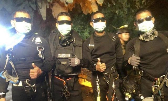 Tailandia: 12 niños y entrenador fueron rescatados de cueva subterránea