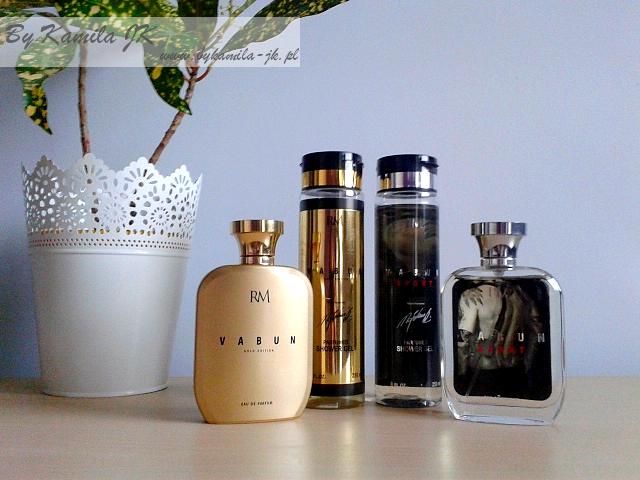 Vabun Gold Sport męskie perfumy żele pod prysznic Radosław Majdan