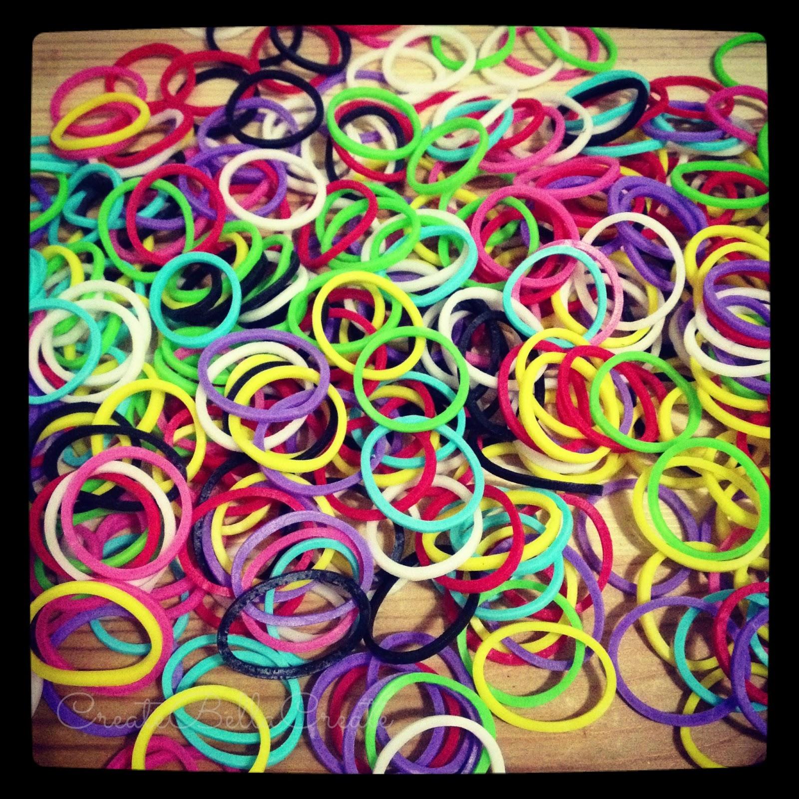 Createbellacreate Rainbow Loom Bracelets