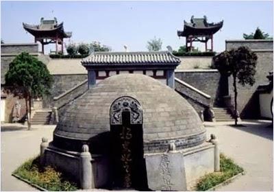 สุสานหยางกุ้ยเฟยในเมืองซีอาน (Yang Guifei: 楊貴妃)