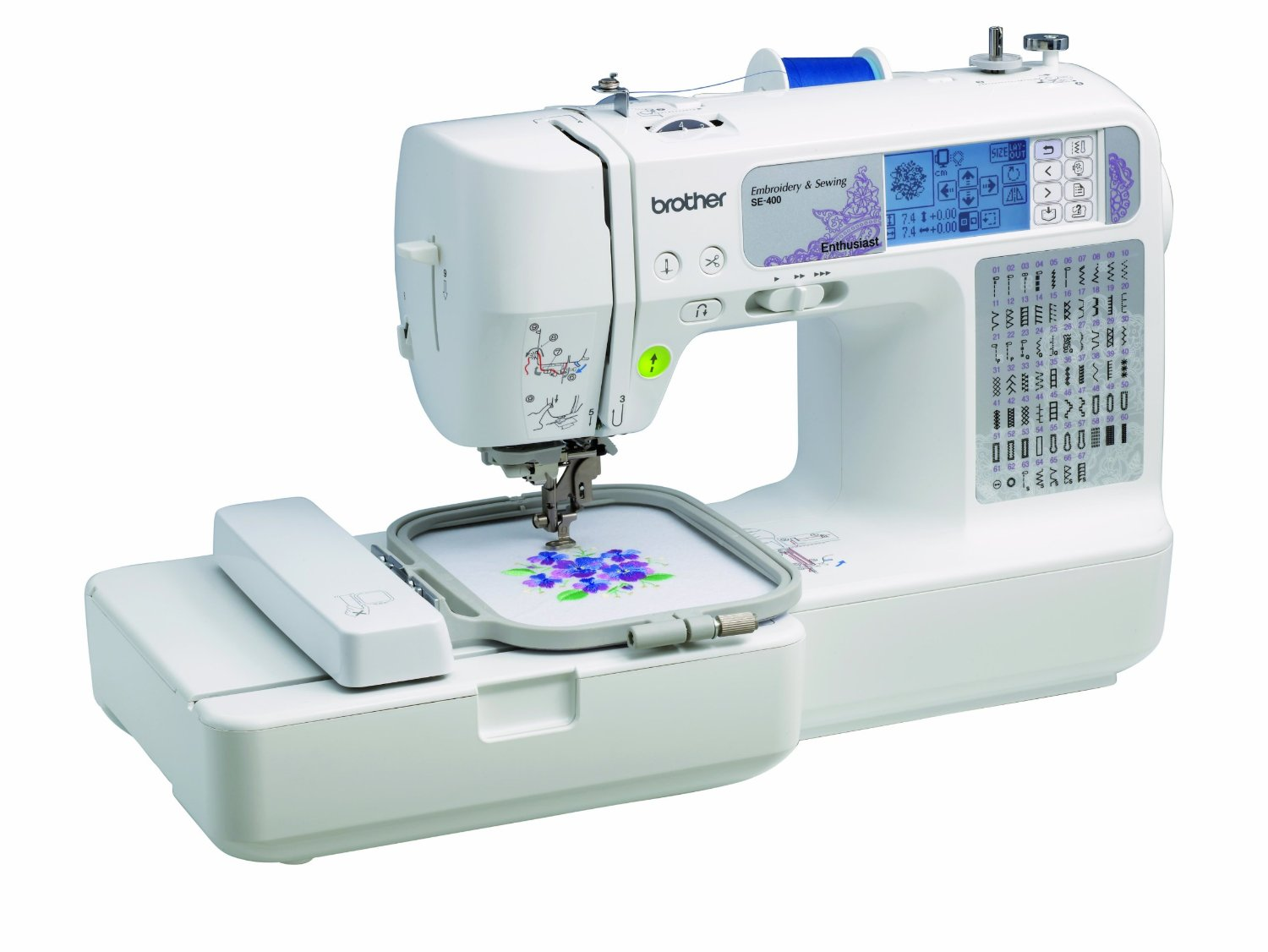 Sewing & embroidery machine - gift ideas for modern moms from And Next Comes L