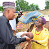 Check: Photos: Governor Shettima pays sensitization visit to IDPs in Bama, charges parents on immunisation, school enrolment