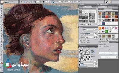 تحميل برنامج corel painter  للرسم بالفرشاة وعمل التصميمات