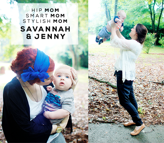 Hip Mom, Smart Mom, Stylish Mom: Savannah and Jenny of Maiedae